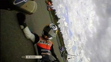 Brno 2011 - MotoGP - Race - Action - Dani Pedrosa  - Crash