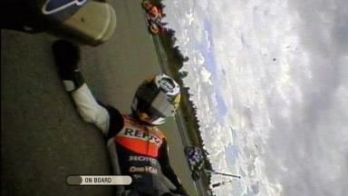 Brno 2011 - MotoGP - Race - Action - Dani Pedrosa  - Crash