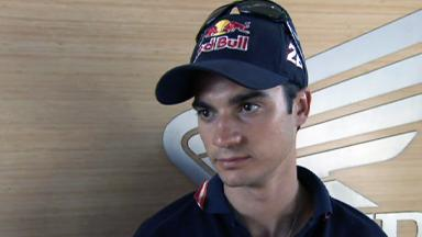Pedrosa on costly crash