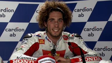 Brno 2011 - MotoGP - Race - Interview - Marco Simoncelli
