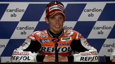 Brno 2011 - MotoGP - Race - Interview - Casey Stoner