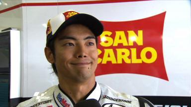 Brno 2011 - MotoGP - Race - Interview - Hiroshi Aoyama