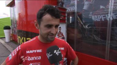 Brno - 2011  - MotoGP - Race - Interview - Hector Barbera