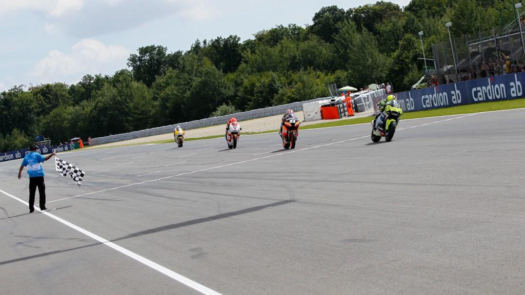Andrea Iannone, Marc Marquez, Stefan Bradl, Speed Master, Catalunya-Caixa Repsol, Veissmann Kiefer Racing, Brno RAC