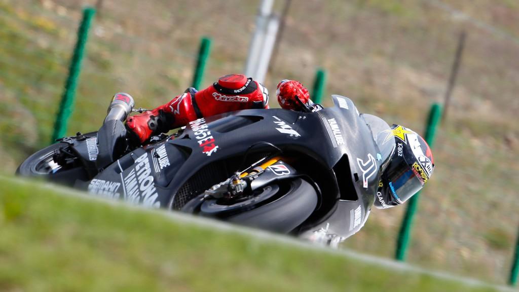 Jorge Lorenzo, Yamaha Factory Racing, Brno Test