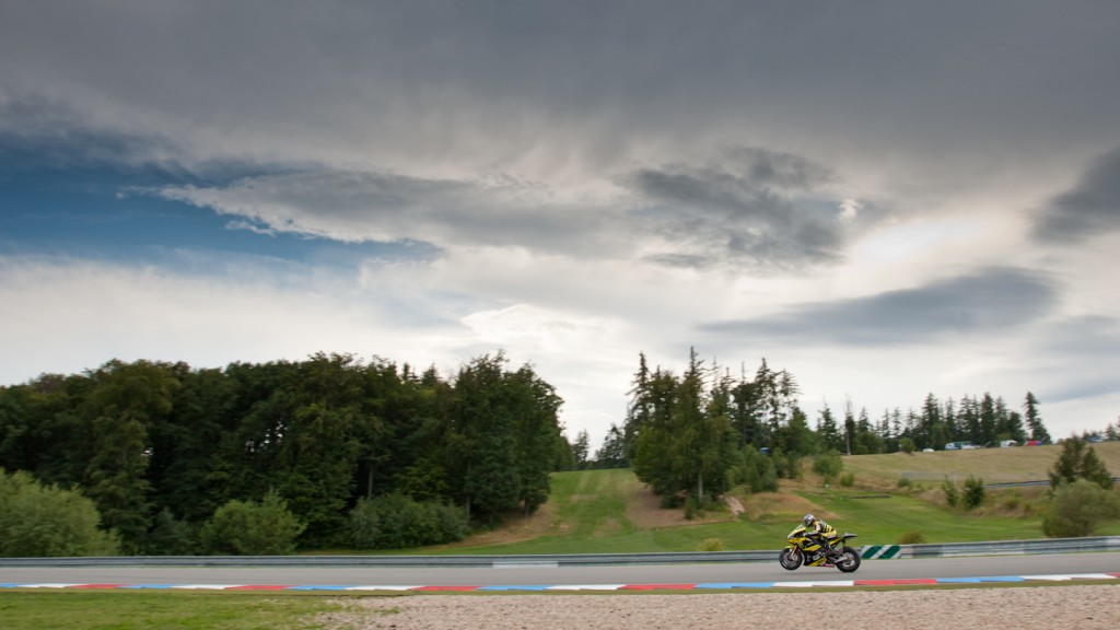 Colin Edwards, Monster Yamaha Tech 3, Brno Test