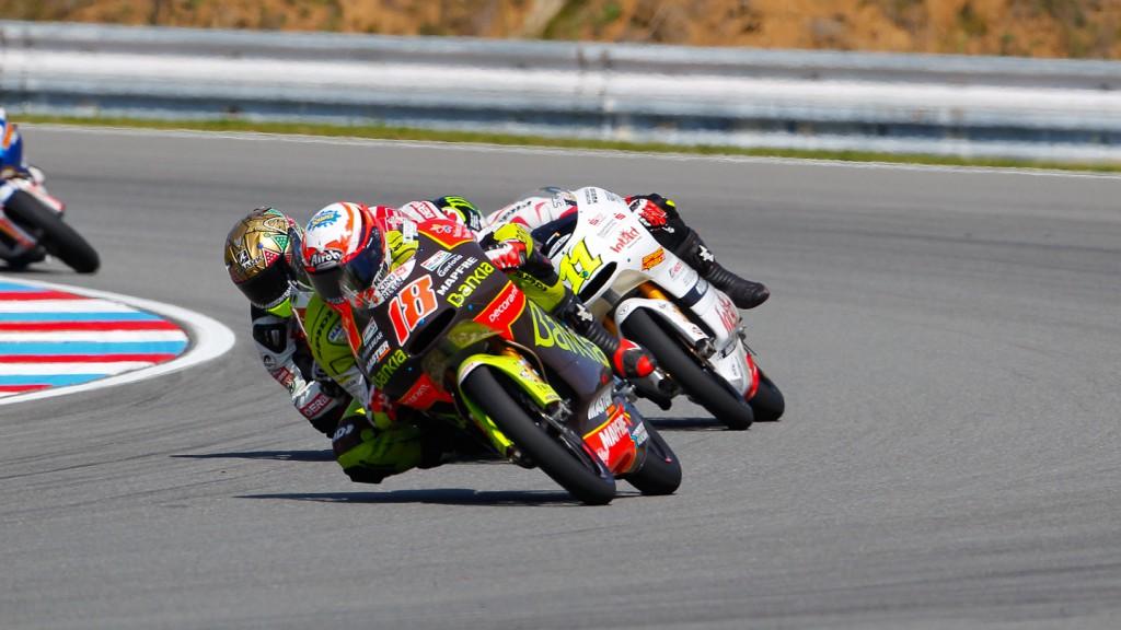 Nico Terol, Johann Zarco, Sandro Cortese, Bankia Aspar Team 125cc, Intact-Racing Team Germany, Avant-AirAsia-Ajo, Brno RAC