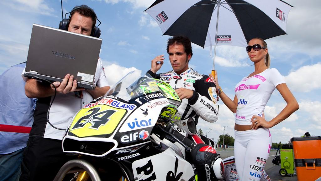 Toni Elias, LCR Honda MotoGP, Brno RAC- © Copyright Alex Chailan & David Piolé