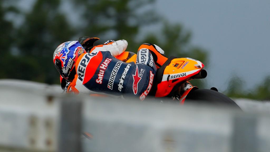 Casey Stoner, Repsol Honda Team, Brno Test