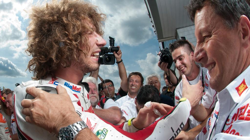 Marco Simoncelli, San Carlo Honda Gresini, Brno RAC - © Copyright Alex Chailan & David Piolé