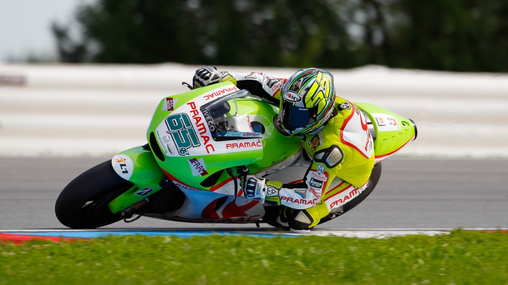 Loris Capirossi, Pramac Racing Team, Brno Test