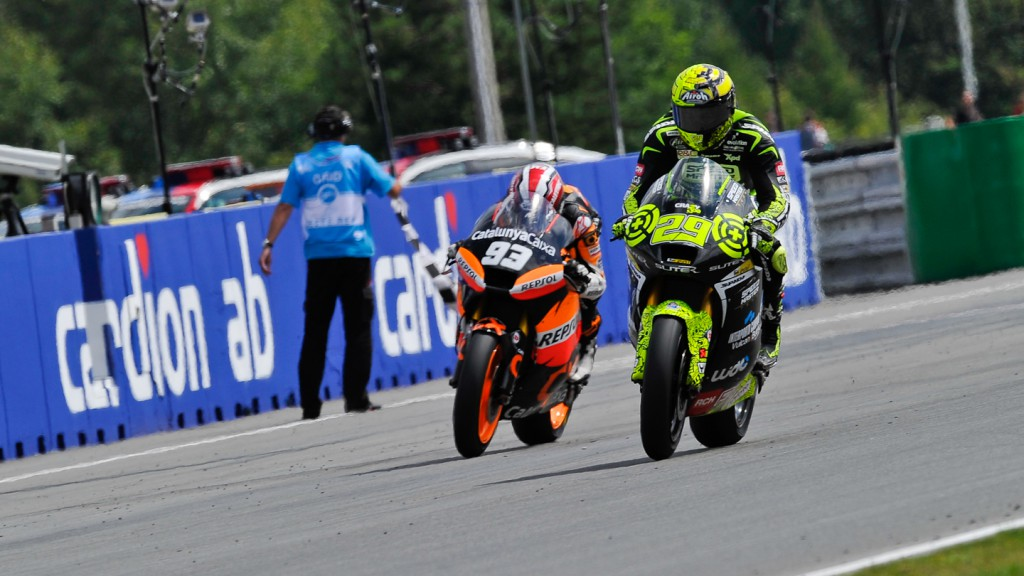 Andrea Iannone, Speed Master, Marc Marquez,  Team CatalunyaCaixa, Brno RAC