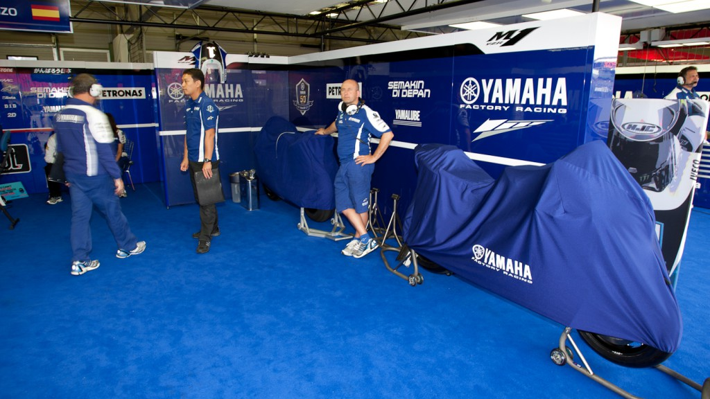 Yamaha Factory Racing, Brno Test