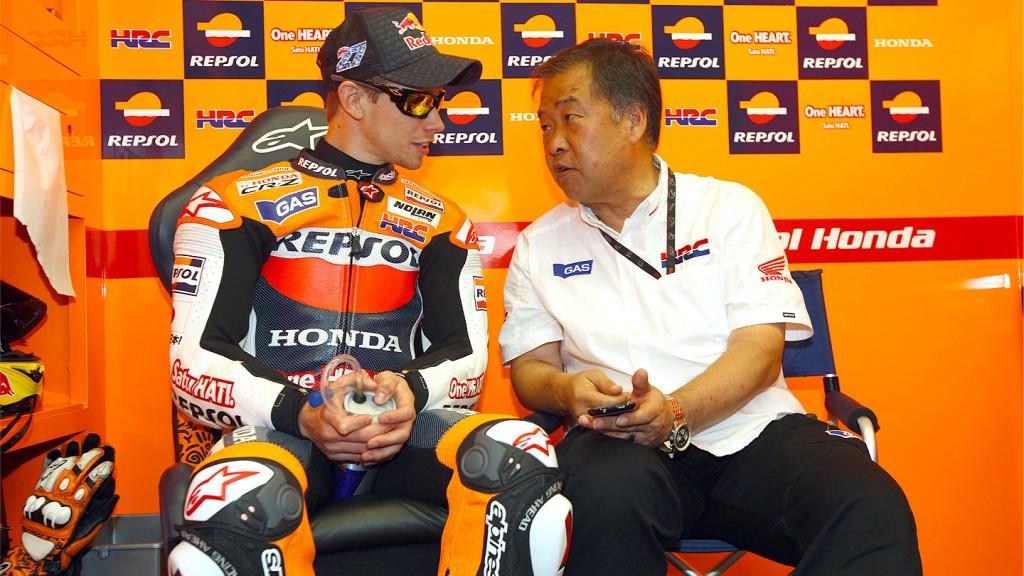 Casey Stoner, Shuhei Nakamoto, Repsol Honda Team