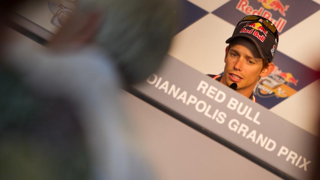 Casey Stoner, Repsol Honda Team, Indianapolis