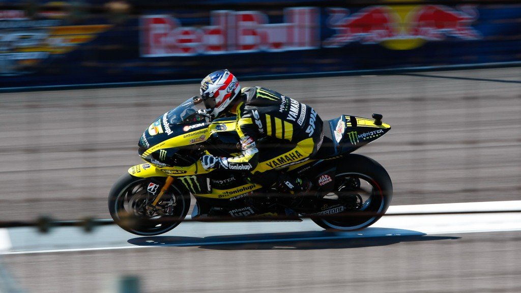 Colin Edwards, Monster Yamaha Tech 3, Indianapolis FP2