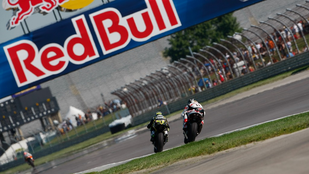 Cal Crutchlow, Ben Spies, Yamaha Tech 3, Yamaha Factory Racing, Indianapolis FP1