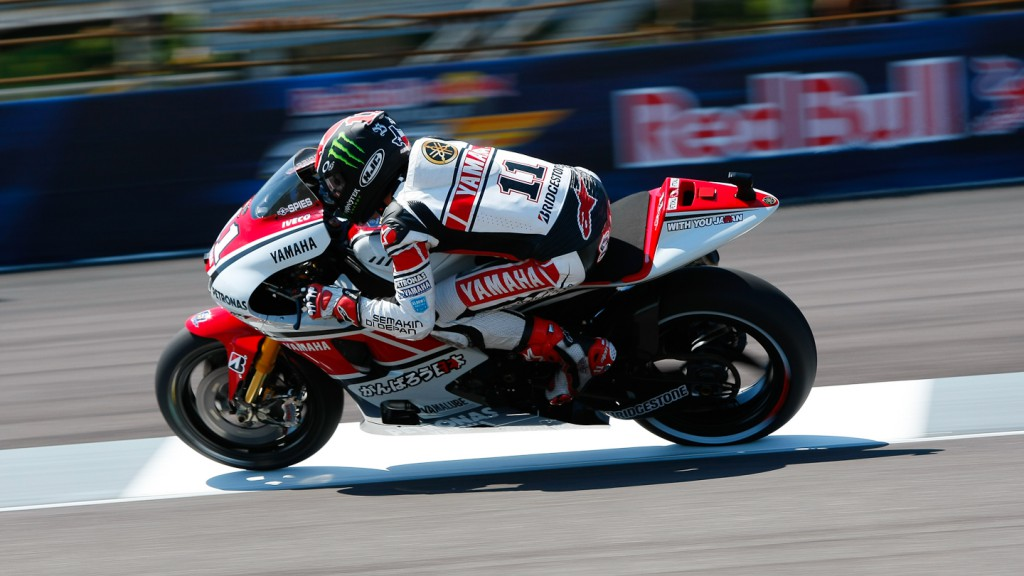 Ben Spies, Yamaha Factory Racing, Indianapolis FP2