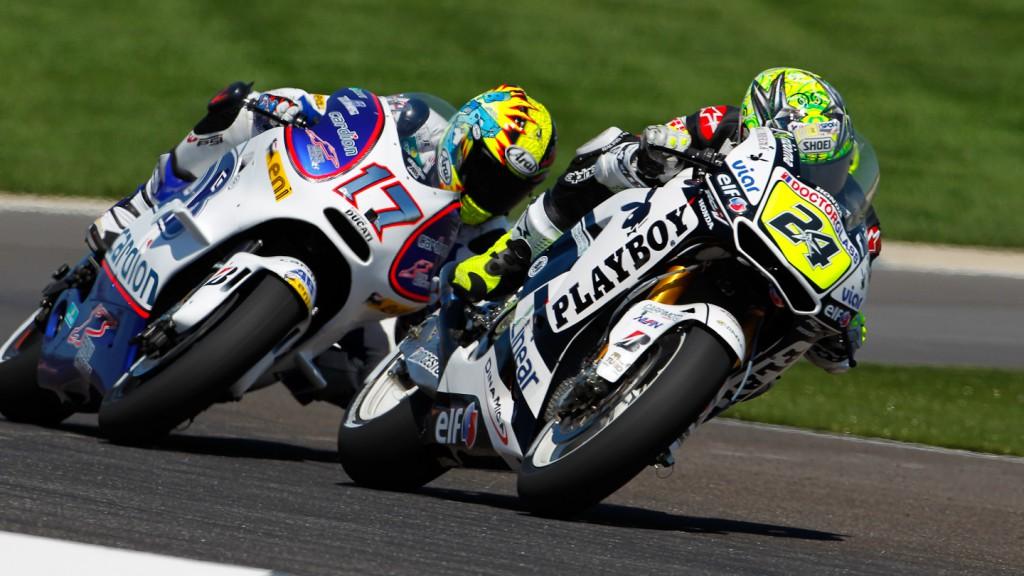 Toni Elias, Karel Abraham, LCR Honda MotoGP, Cardion AB Motoracing, Indiniapolis FP2