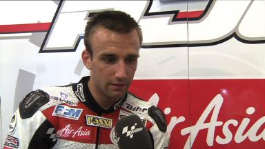 Zarco in top three times