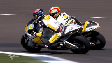 Indianapolis 2011 - Moto2 - FP1 - Action - Thomas Luthi & Alex De Angelis