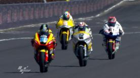Le pilote du team Marc VDS Racing a dominé la première séance d'essais Moto2 de vendredi à l'Indianapolis Motor Speedway. Bradley Smith, Randy Krummenacher et Marc Márquez complètent le top 4 tandis que Stefan Bradl, le leader de la catégorie, est seizième.