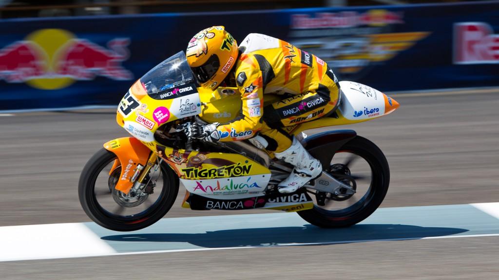 Alberto Moncayo, Andalucia Banca Civica, Indianapolis FP2