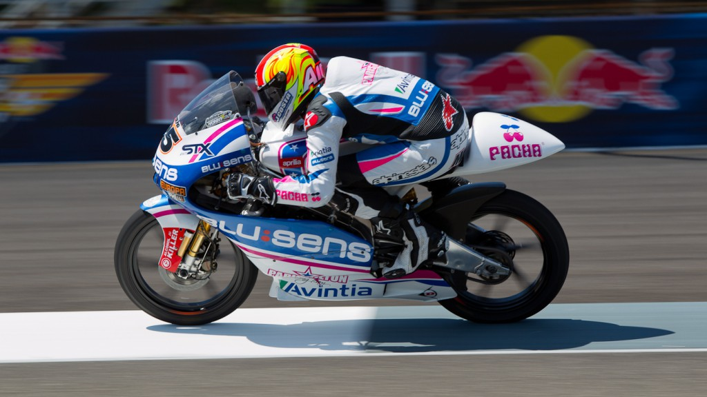 Maverick Viñales, Blusens by Paris Hilton Racing, Indianapolis FP2