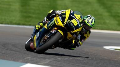 Cal Crutchlow, Yamaha Tech 3, Indianapolis FP2