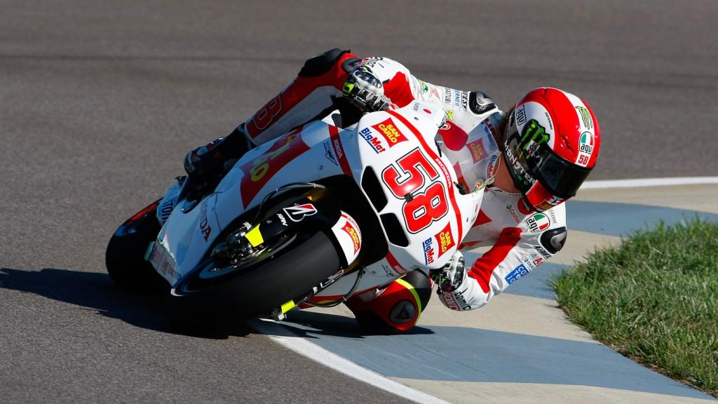 Marco Simoncelli, San Carlo Honda Gresini, Indianapolis FP2