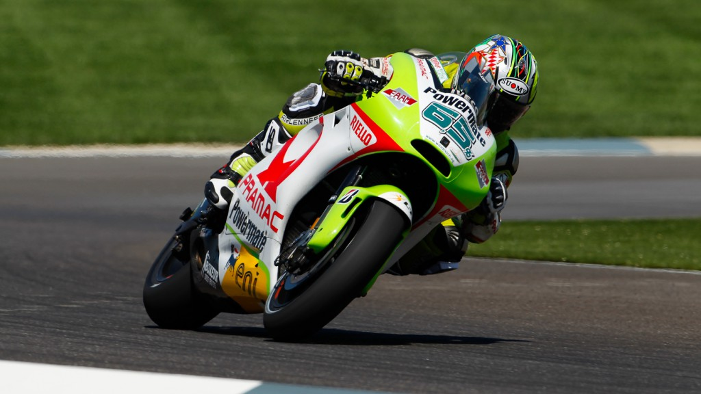 Loris Capirossi, Pramac Racing Team, Indianapolis FP2