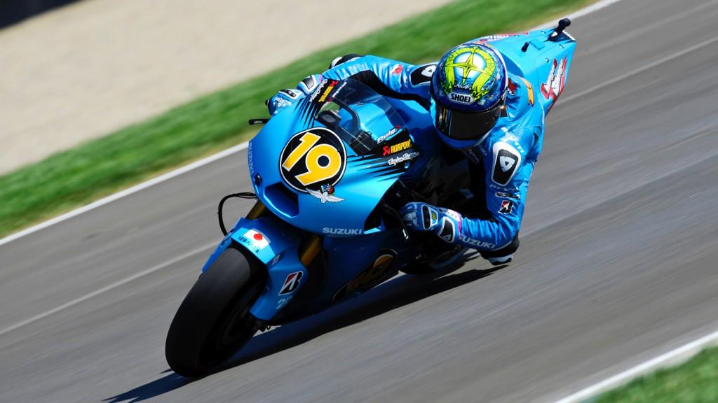 Alvaro Bautista, Rizla Suzuki MotoGP, Indianapolis FP2
