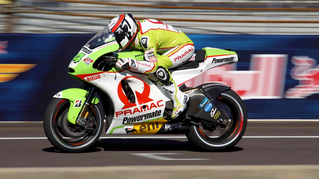 Randy de Puniet, Pramac Racing Team, Indianapolis FP2