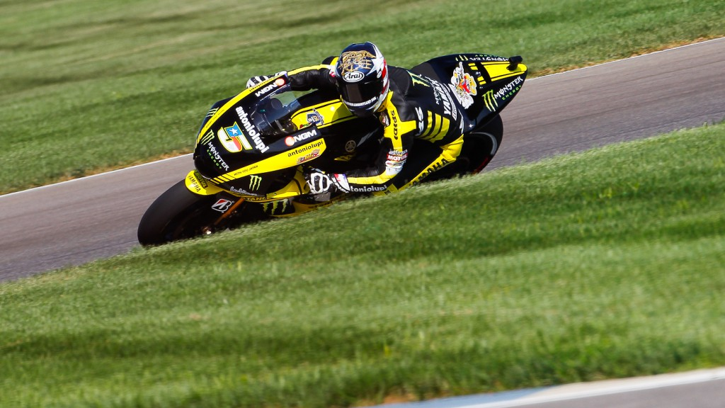 Colin Edwards, Monster Yamaha Tech 3, Indianapolis QP