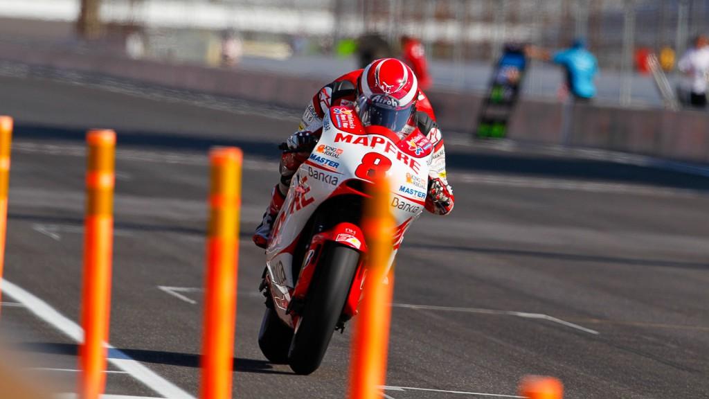 Hector Barbera, Mapfre Aspar Team, Indianapolis QP