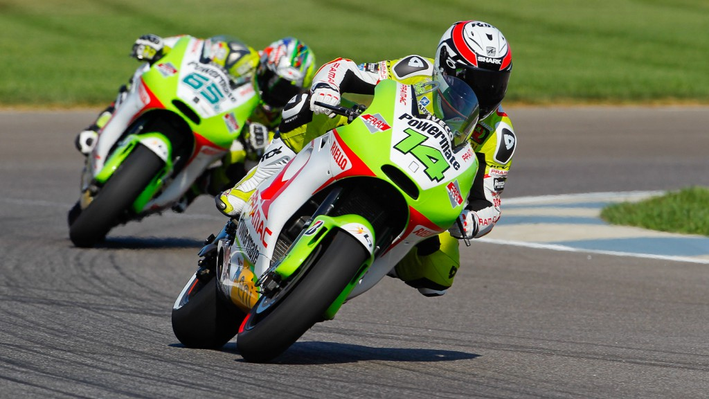Randy de Puniet, Loris Capirossi, Pramac Racing Team, Indianapolis QP