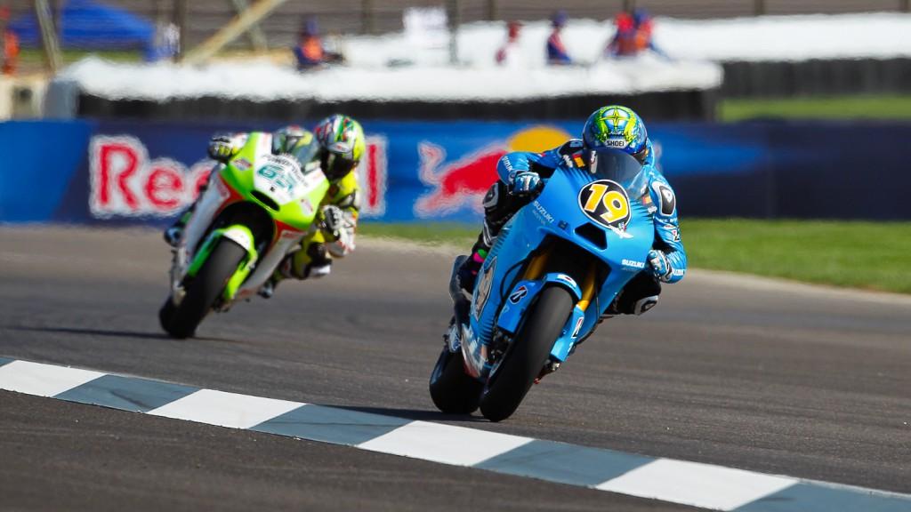 Alvaro Bautista, Rizla Suzuki MotoGP, Indianapolis QP