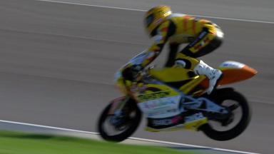 Indianapolis 2011 - 125cc - FP3 - Action - Alberto Moncayo - Crash
