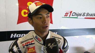 Indianapolis 2011 - MotoGP - QP - Interview - Hiroshi Aoyama