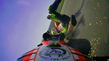 Indianapolis 2011 - MotoGP - QP - Action - Valentino Rossi - Crash