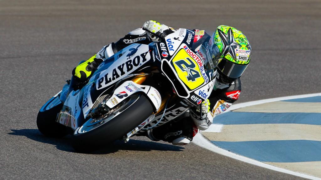 Toni Elias, LCR Honda MotoGP, Indianapolis QP