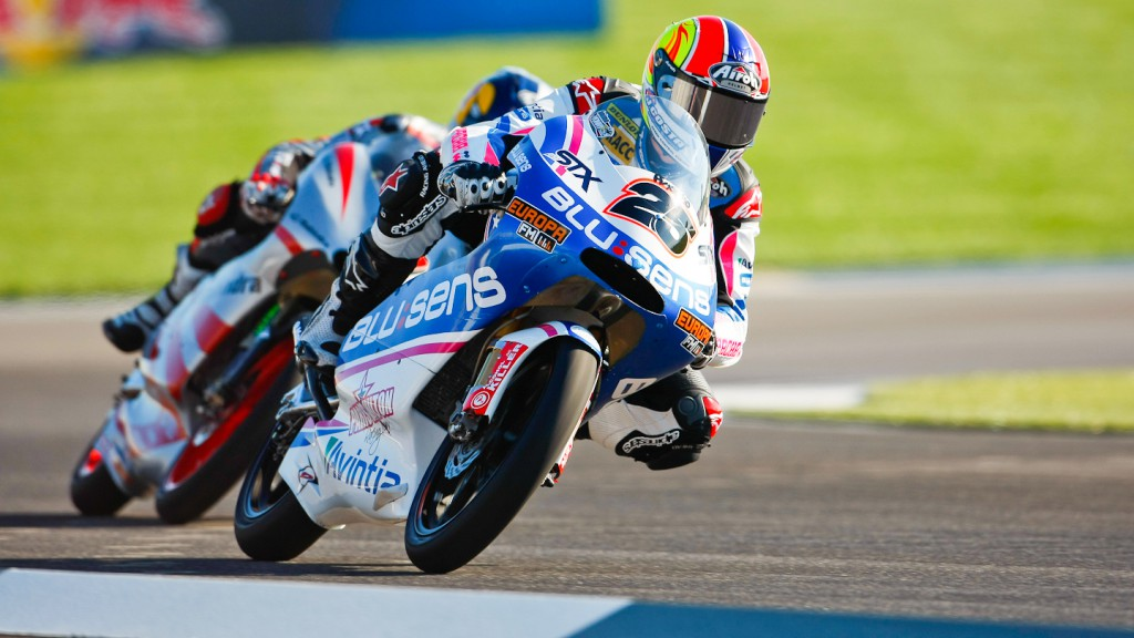 Maverick Viñales, Blusens by Paris Hilton Racing, Indianapolis QP