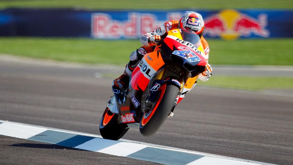 Casey Stoner, Repsol Honda, MotoGP QP