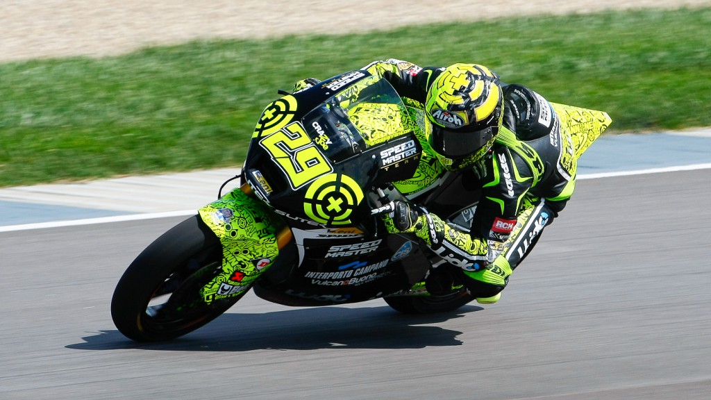 Andrea Iannone, Speed Master, Indianapolis FP3