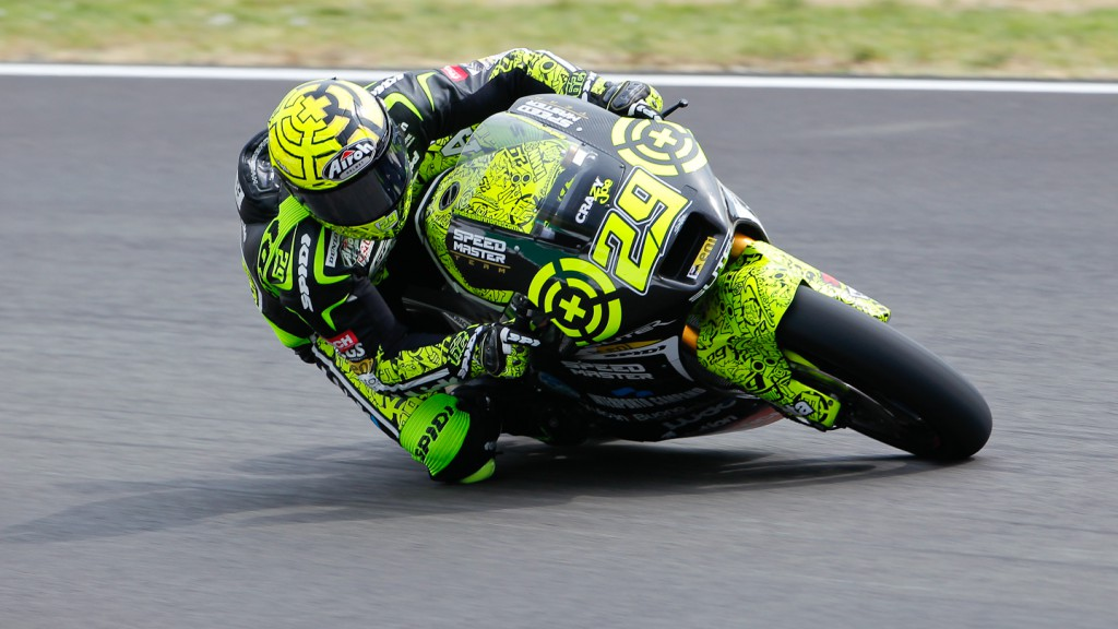 Andrea Iannone, Speed Master, Indianapolis QP