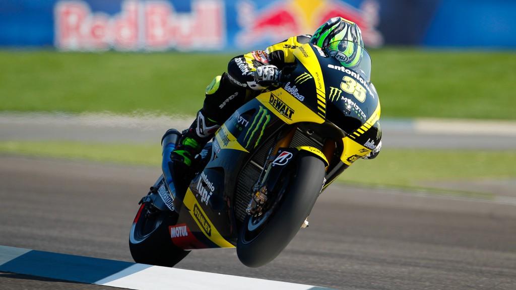 Cal Crutchlow, Yamaha Tech 3, Indianapolis QP