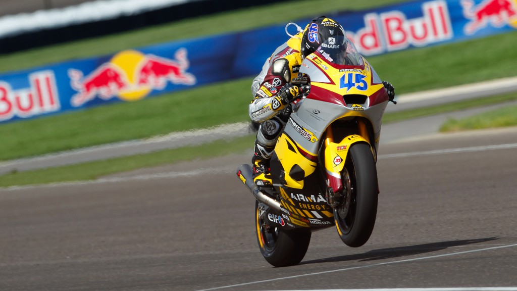 Scott Redding, Marc VDS Racing Team, Indianapolis QP