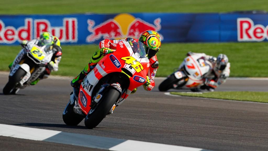 Valentino Rossi, Ducati Team, Indianapolis QP
