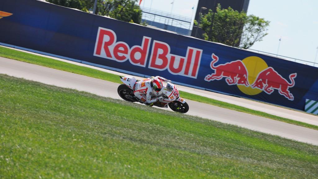 Marco Simoncelli, San Carlo Honda Gresini, Indianapolis FP3