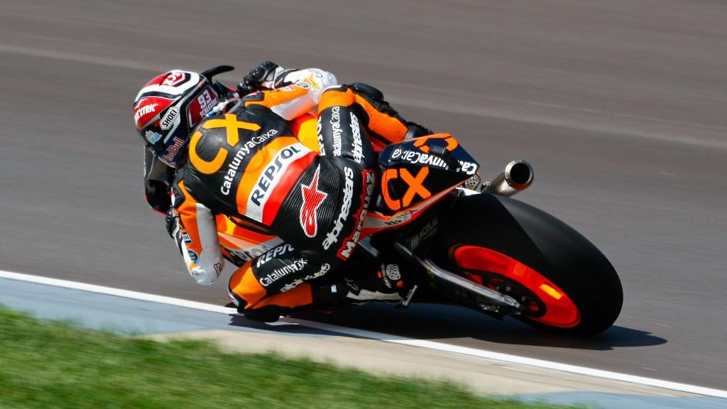 Marc Marquez, Team CatalunyaCaixa, Indianapolis FP3
